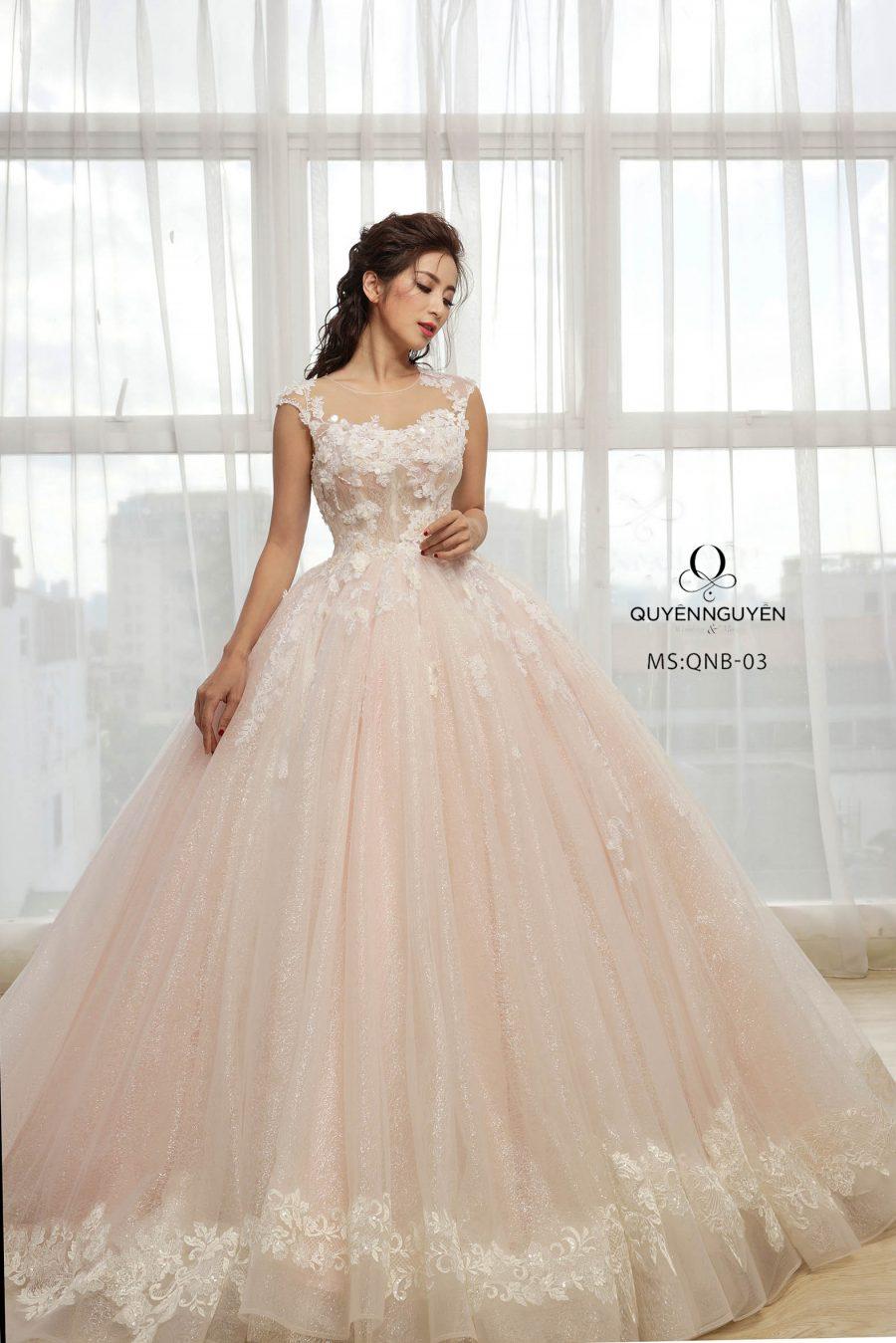 Váy cưới mẫu QNB 03