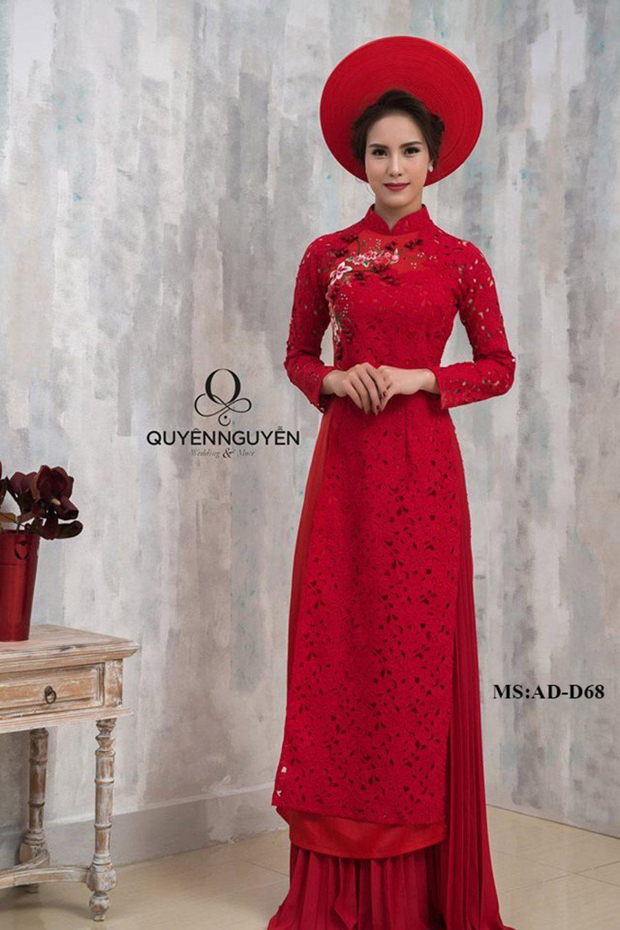 Bộ sưu tập áo dài cô dâu ADD68