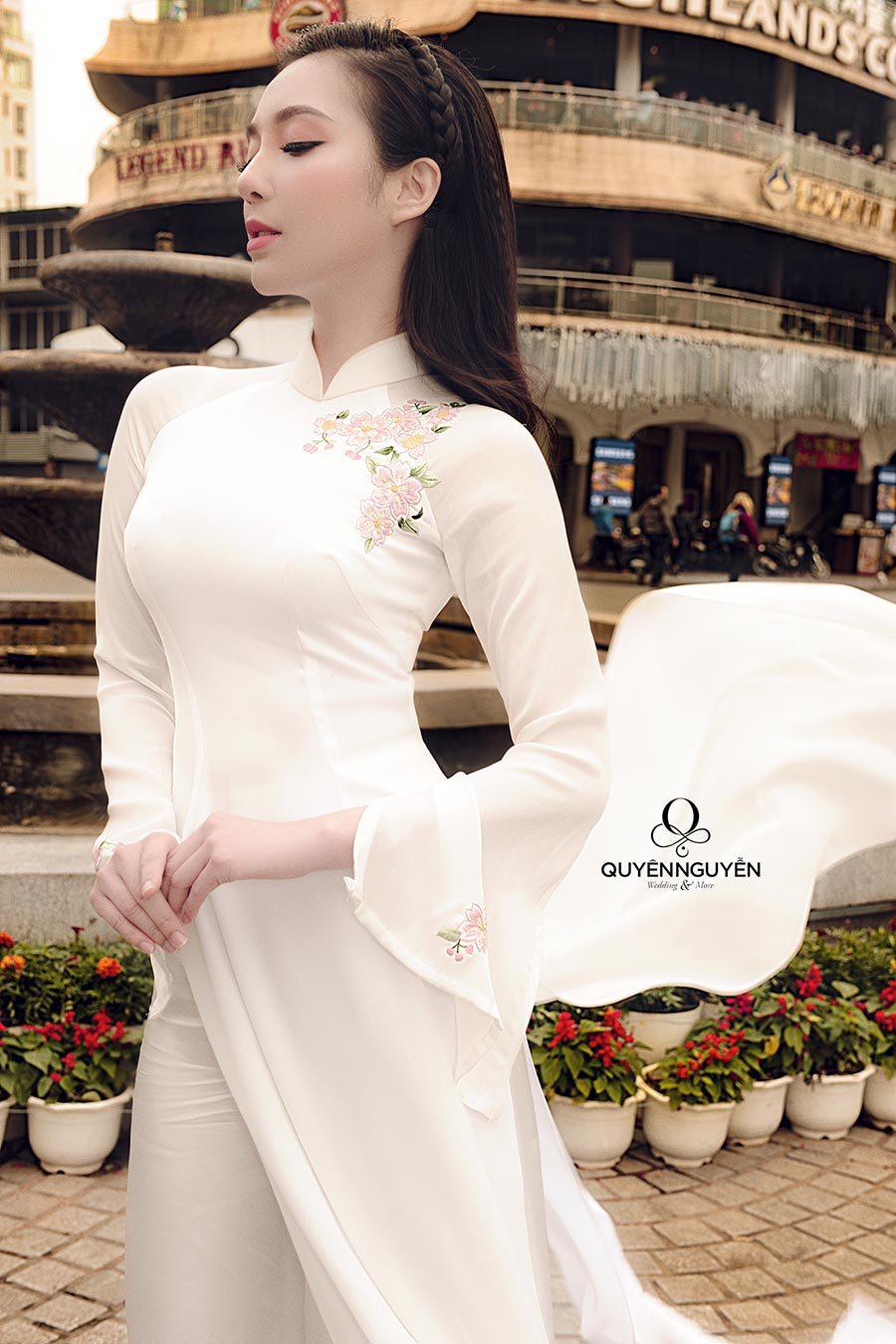 Bộ sưu tập áo dài thời trang mẫu 01