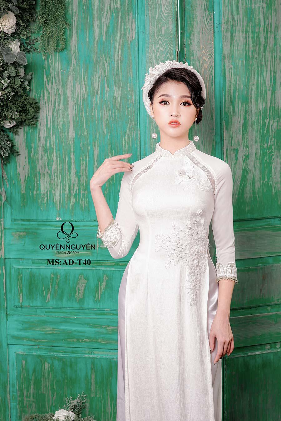 áo dài trắng ADT40.1