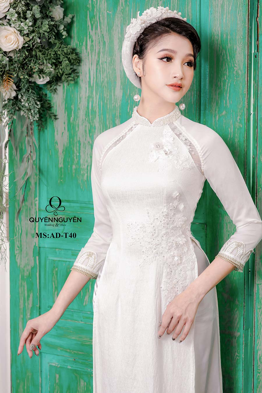 áo dài trắng ADT40.3