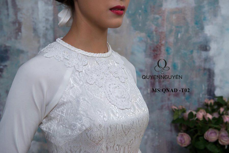 áo dài trắng ADT02