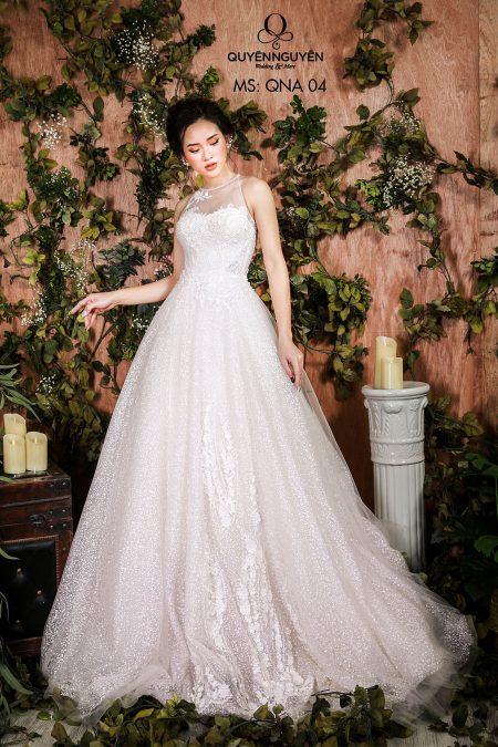Váy cưới dáng A QNA 04