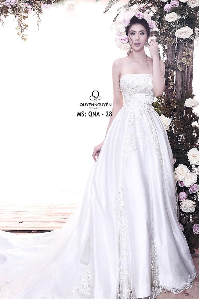 Váy cưới dáng A QNA 28