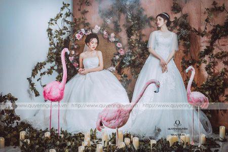 Váy cưới cao cấp thể hiện nét sang trọng cho người mặc