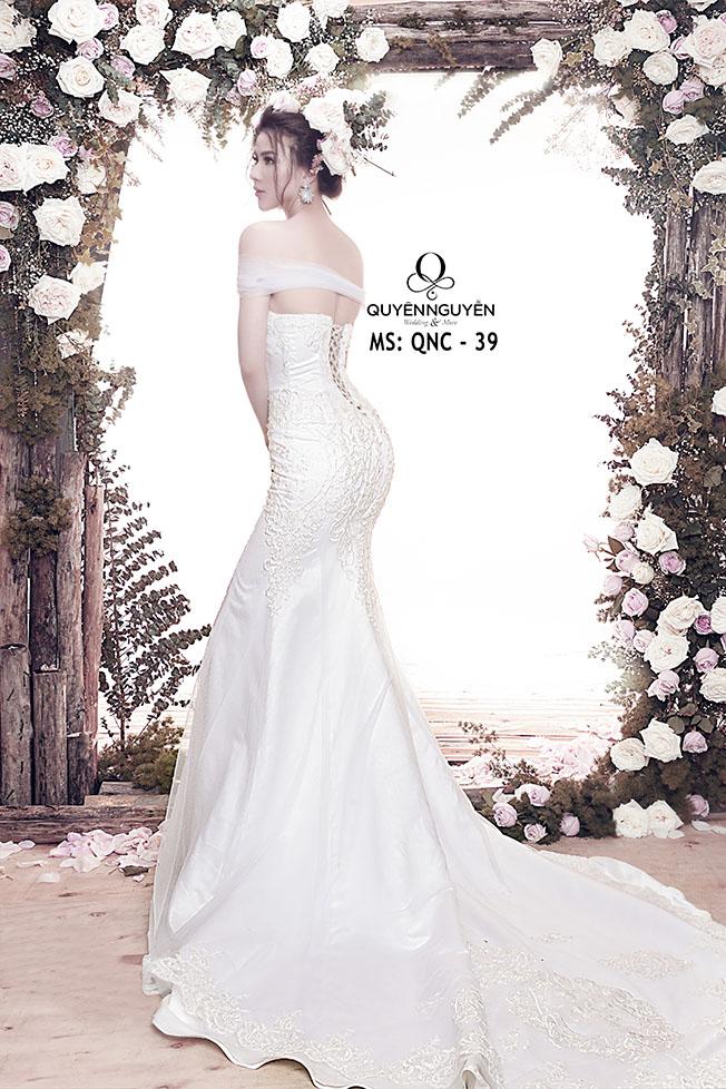 Váy cưới dáng cá QNC 39