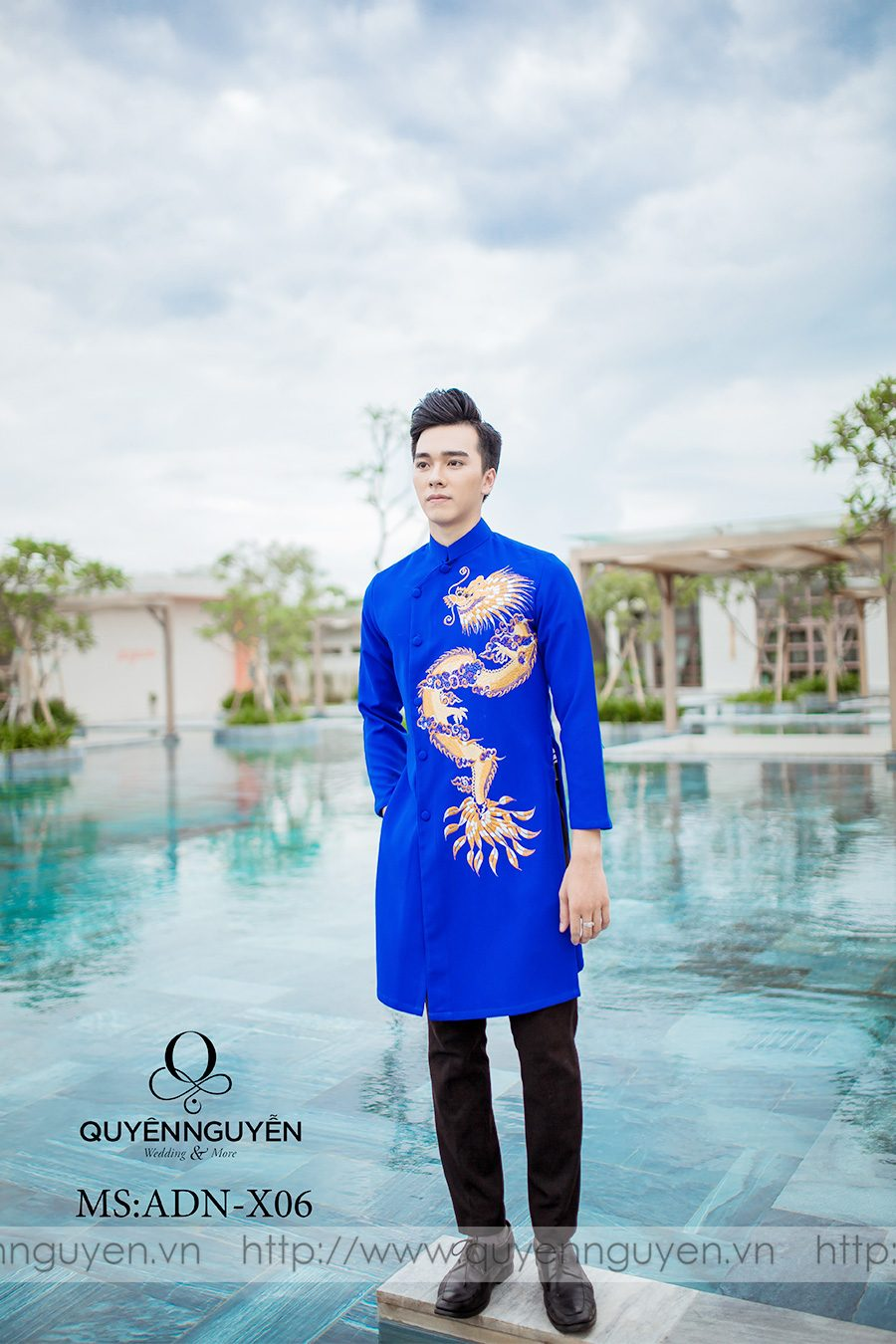 Địa chỉ cho thuê áo dài nam uy tín tại Hà Nội
