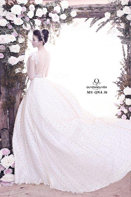 Váy cưới dáng A QNA 26