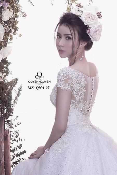 Váy cưới dáng A QNA 27