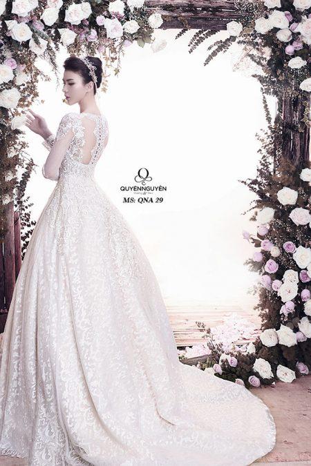 Váy cưới dáng A QNA 29