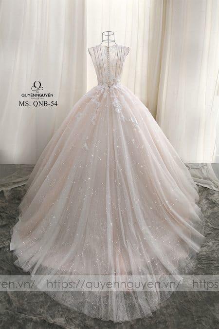 Váy cưới dáng cá QNB 54