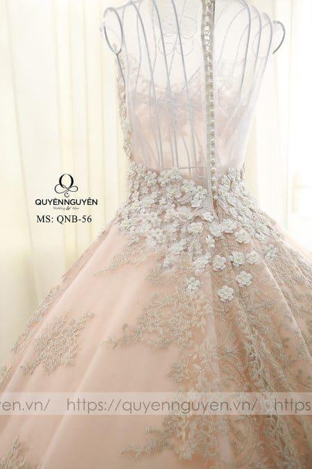 Váy cưới dáng bồng QNB 56