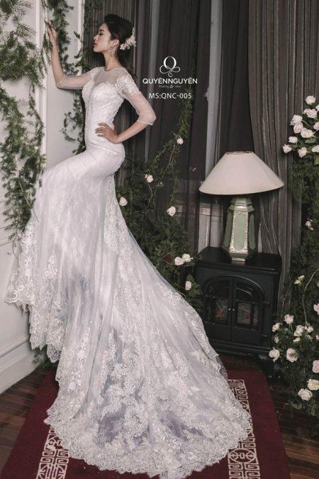Váy cưới đuôi cá 005
