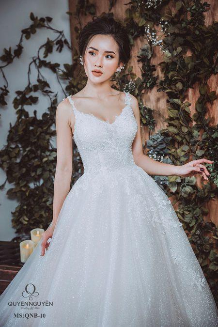 Váy cưới dáng bồng QNB 10