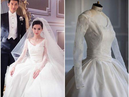 Váy cưới của Angela Baby