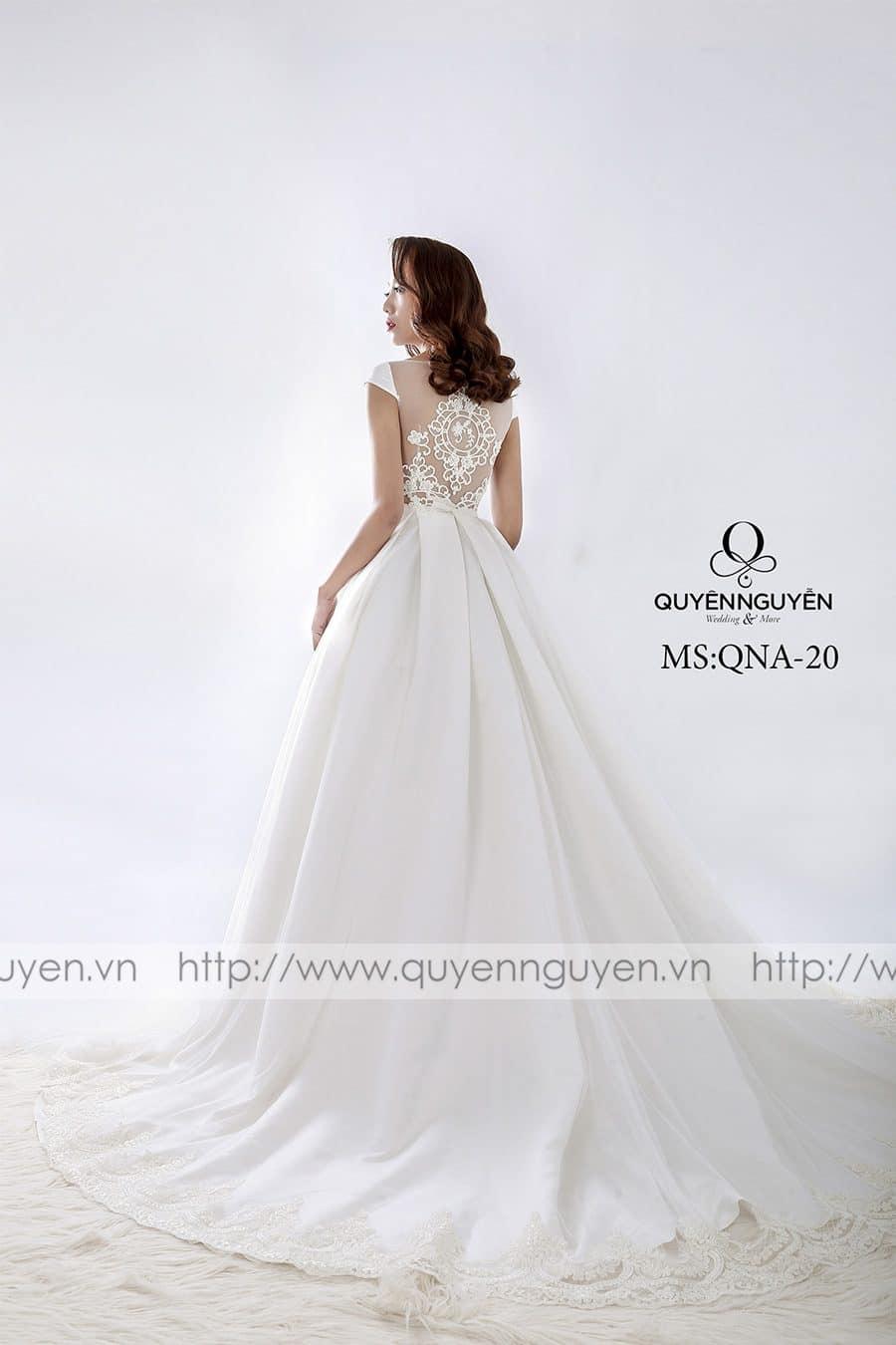 Váy cưới mẫu QNA 20
