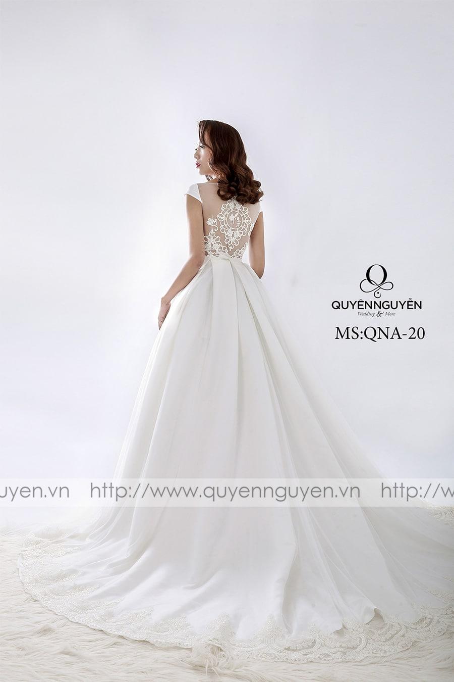 Váy cưới dáng A QNA 20
