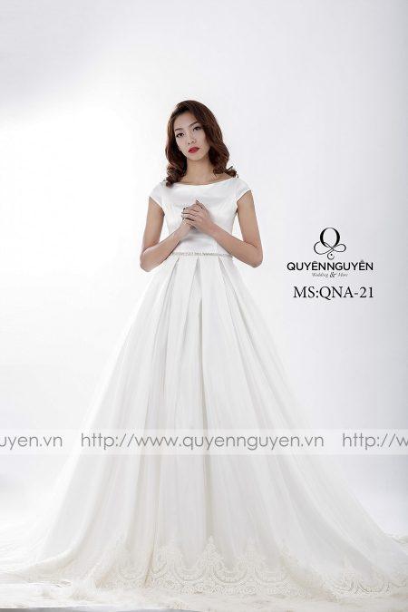 Váy cưới dáng A QNA 21
