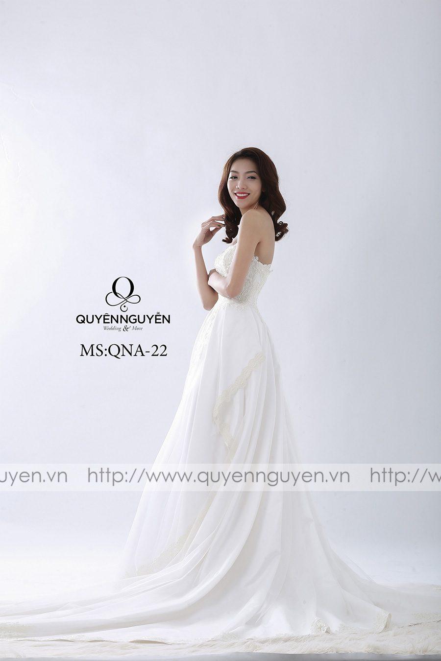 Váy cưới mẫu QNA 22