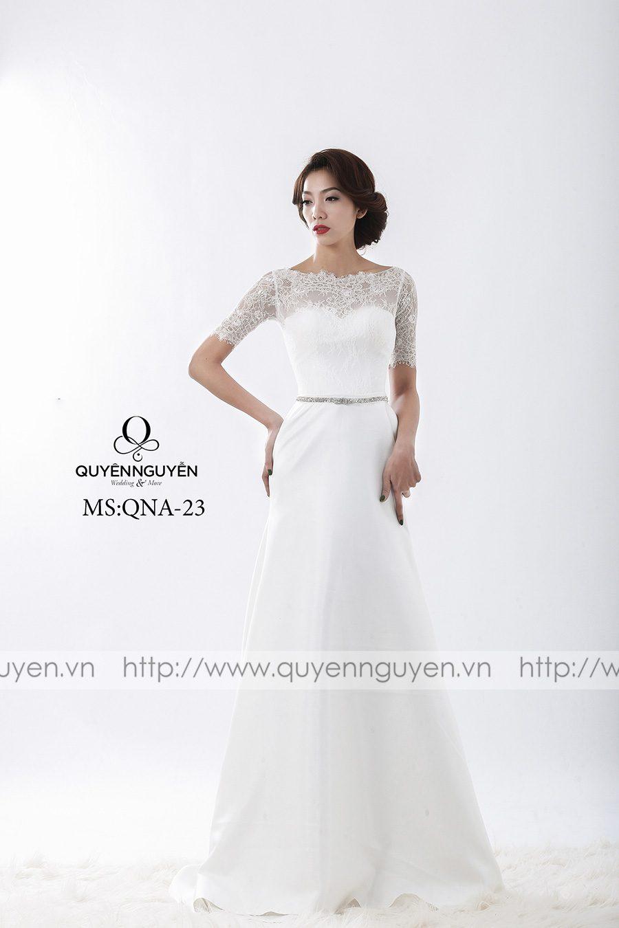 Váy cưới mẫu QNA 23