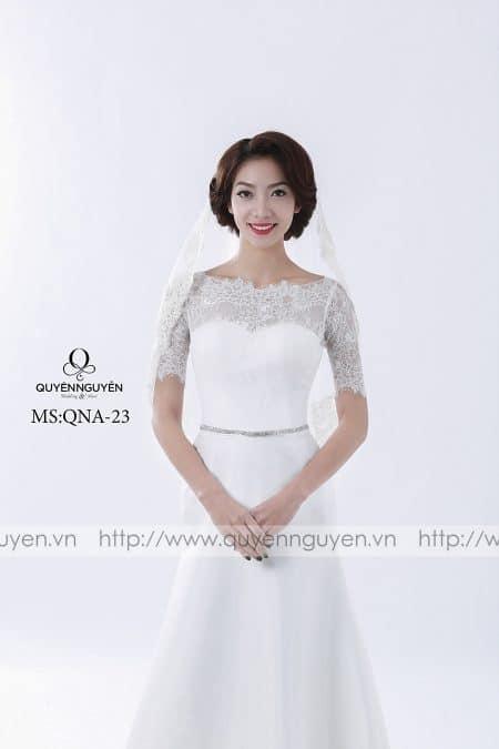Váy cưới dáng A QNA 23