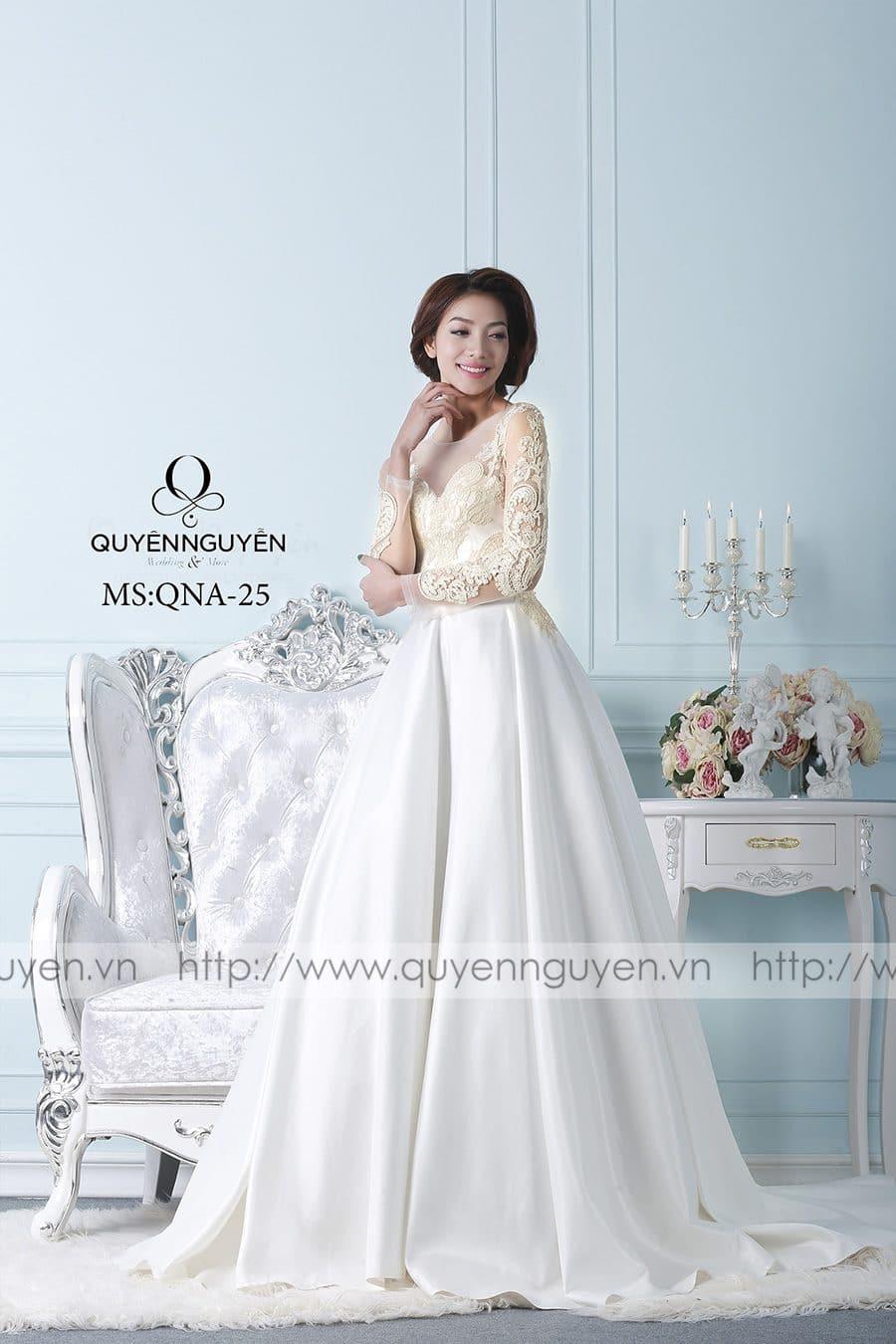 Váy cưới mẫu QNA 25