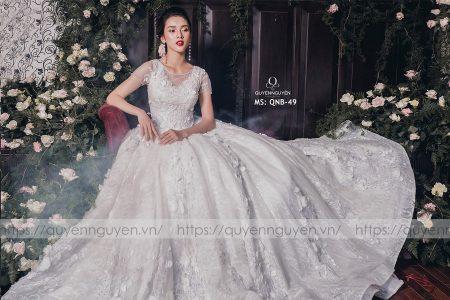 Váy cưới dáng bồng QNB 49