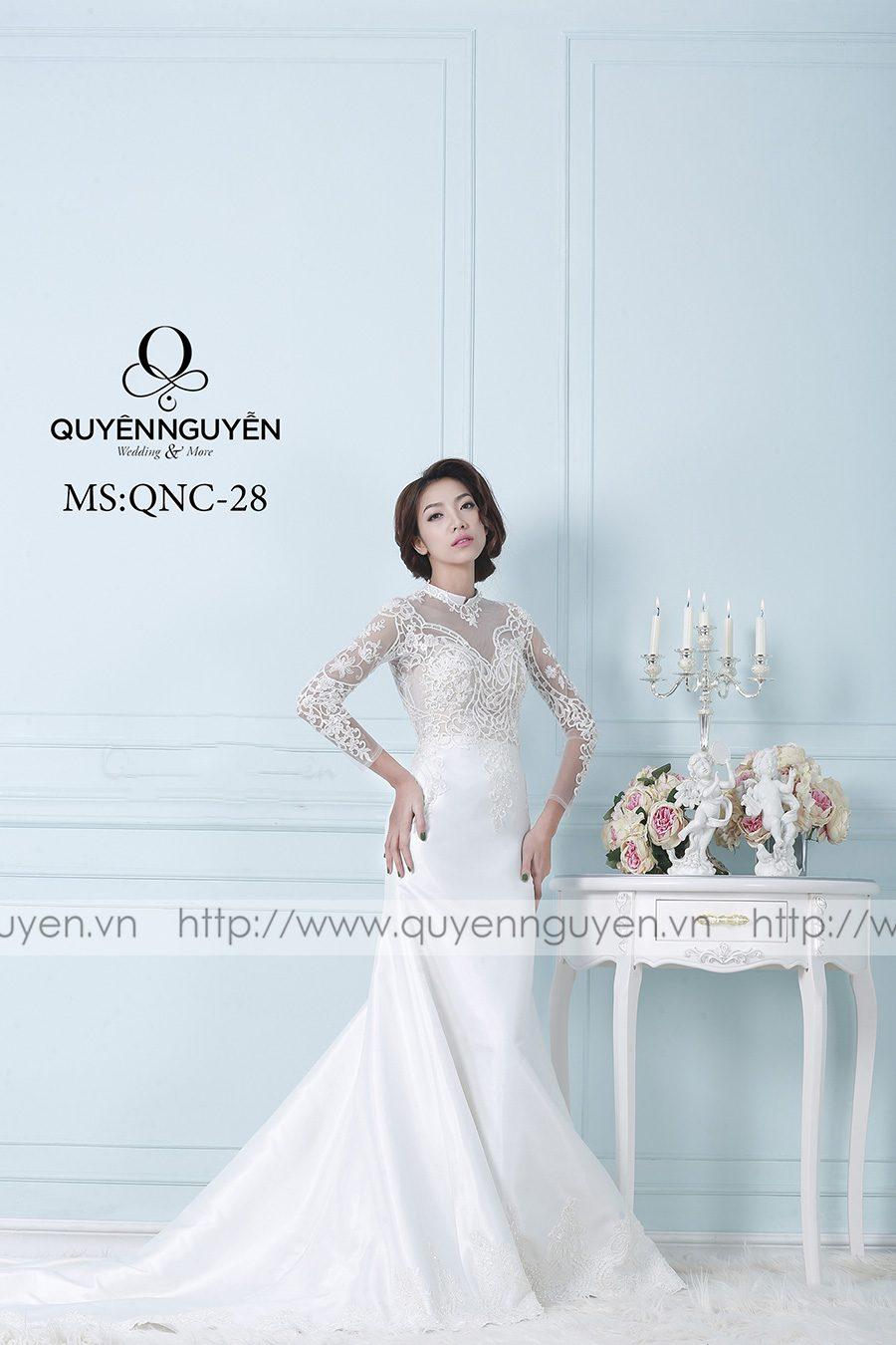 Váy cưới mẫu QNC 28