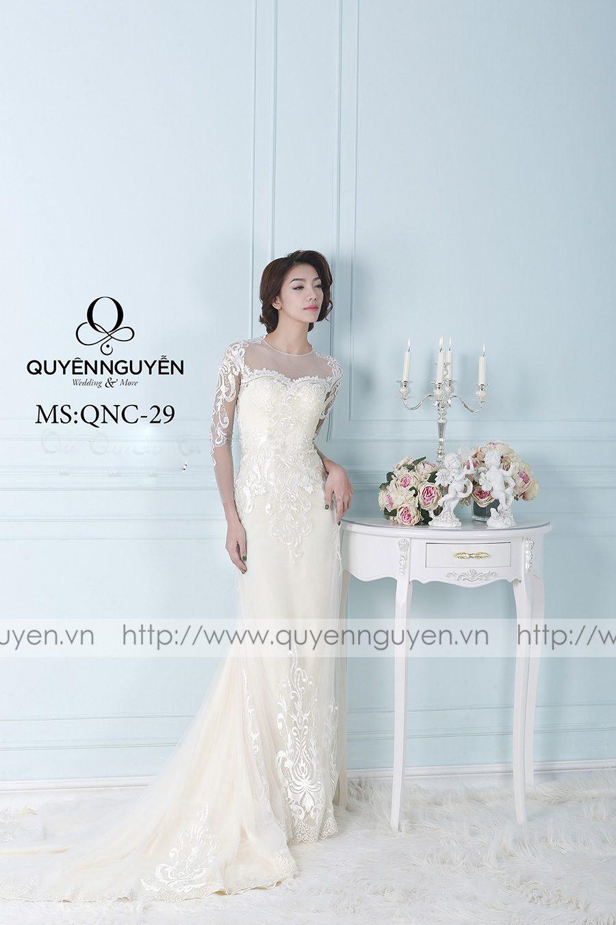Váy cưới mẫu QNC 29