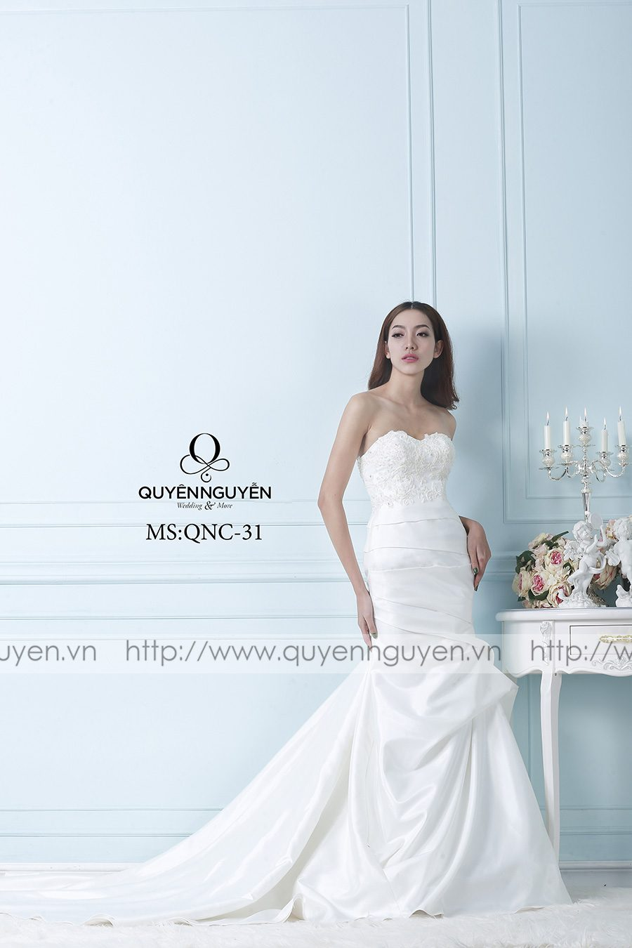 Váy cưới mẫu QNC 31