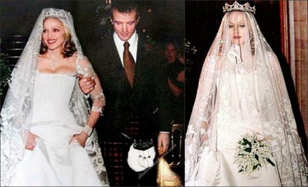 Váy cưới của Madonna