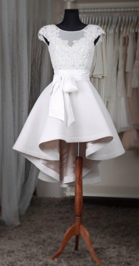 Váy cưới ngắn Hàn Quốc