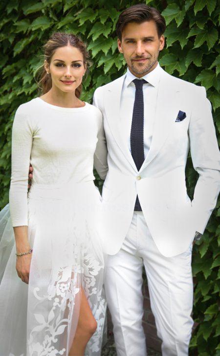 Váy cưới của Olivia Palermo