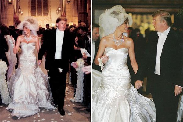 Váy cưới của phu nhân tổng thống Mỹ Trump