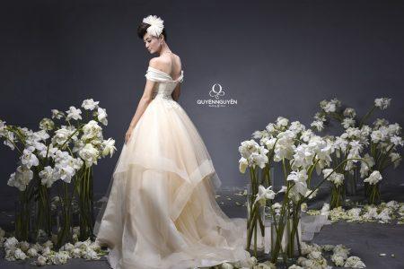 Váy cưới dáng bồng Quyên Nguyễn