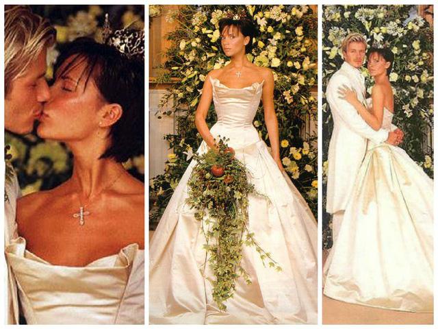 Váy cưới của Victoria Beckham