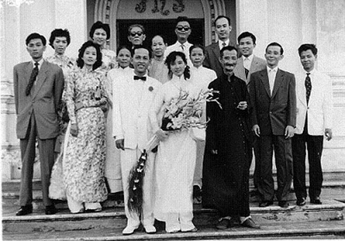 Áo dài cưới xưa trong lịch sử Việt Nam