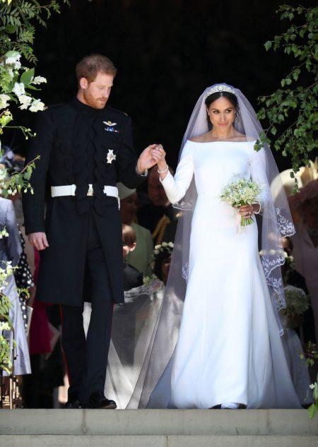 Váy cưới công nương Anh meghan