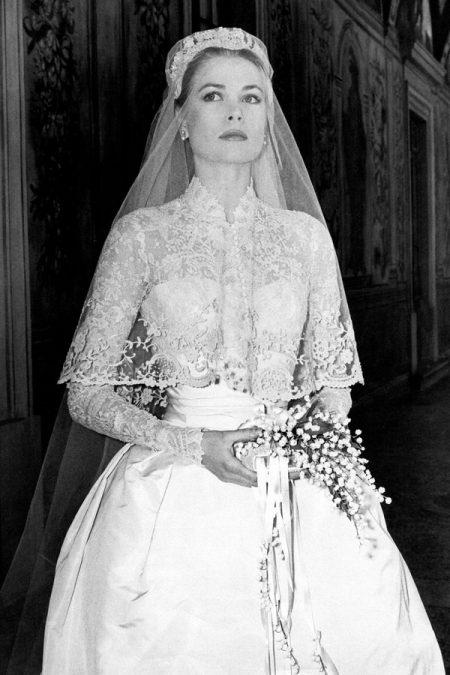 Váy cưới Grace Kelly