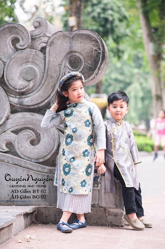 Áo dài trẻ em mua ở đâu tốt tại Hà Nội?