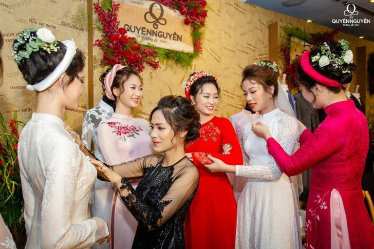 Dịch vụ cho thuê áo dài cưới đẹp giá rẻ TPHCM 2021 - Tài