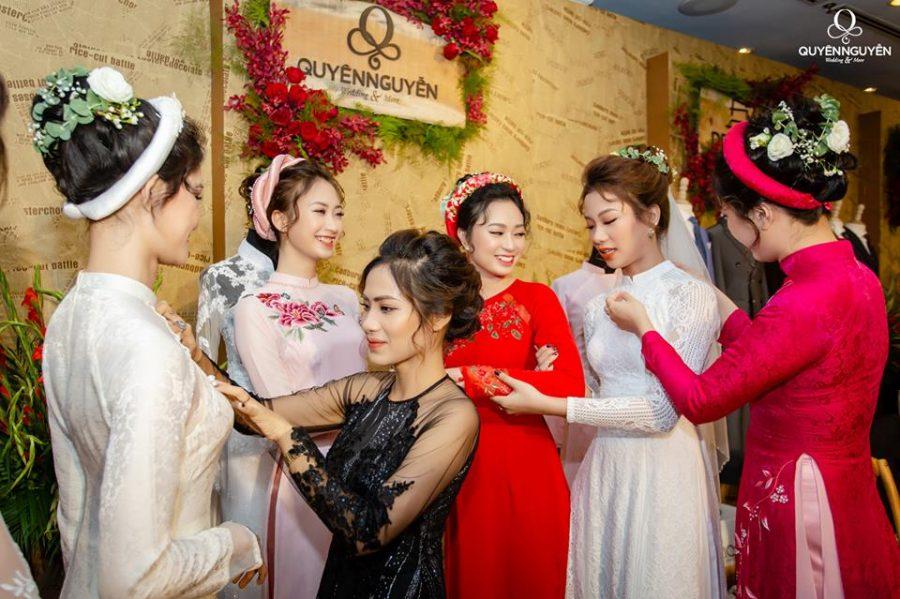 Áo dài cưới Quyên Nguyễn Bridal