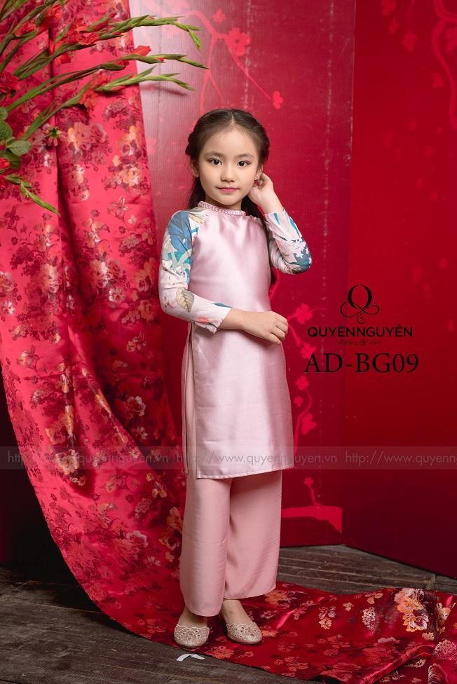 Áo dài trẻ em gái AD BG09