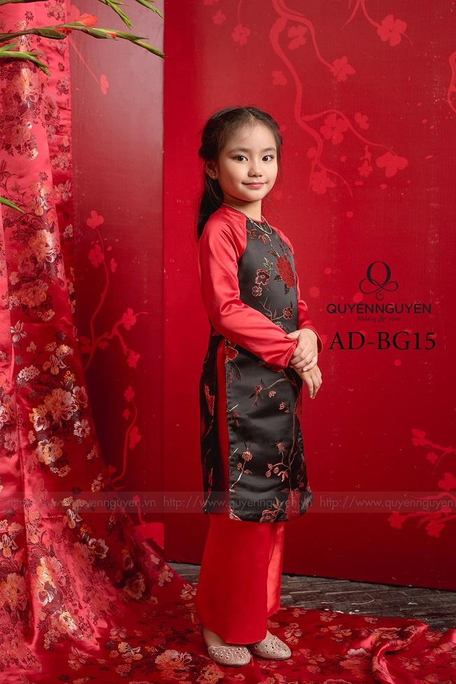 Áo dài trẻ em bé gái AD BG15