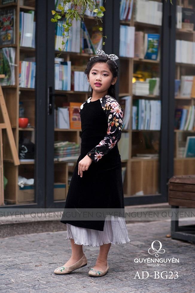 Áo dài trẻ em gái AD BG23