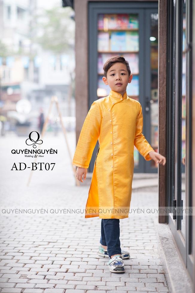 Áo dài trẻ em trai AD BT07