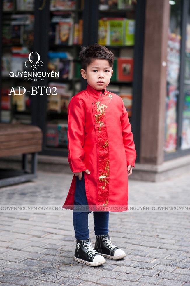 Áo dài trẻ em trai AD BT02