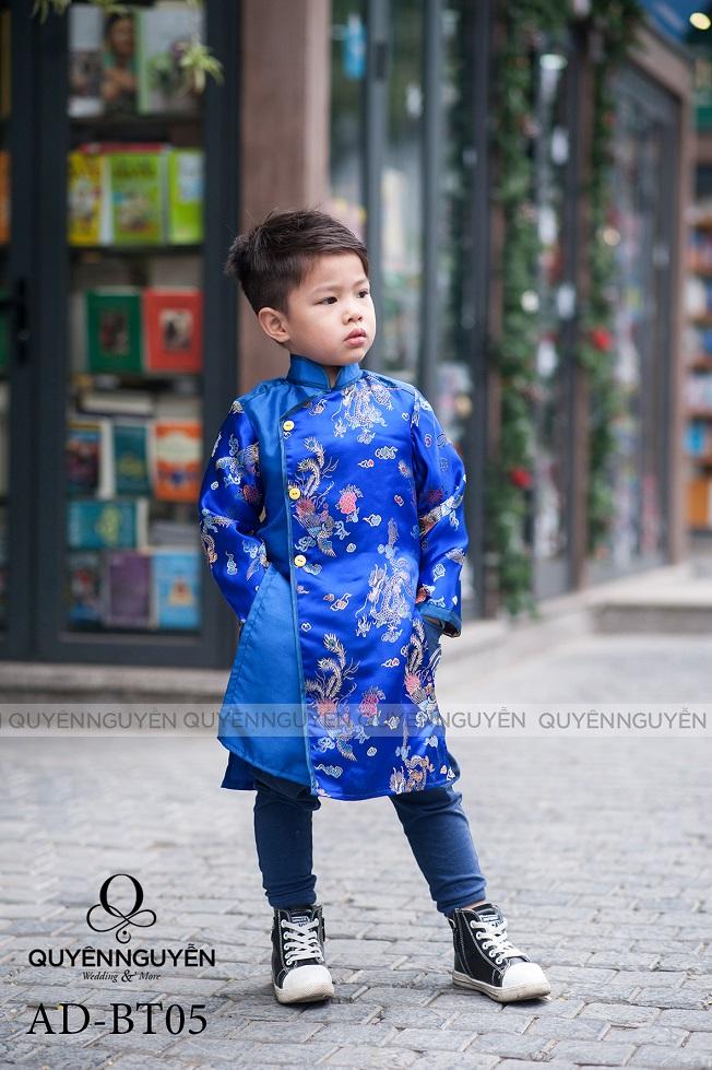 Áo dài trẻ em trai AD BT10