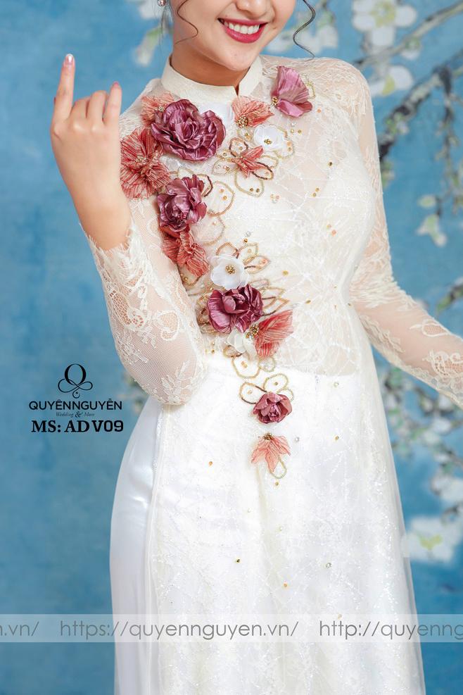 Chất liệu áo dài đôi cô dâu chú rể