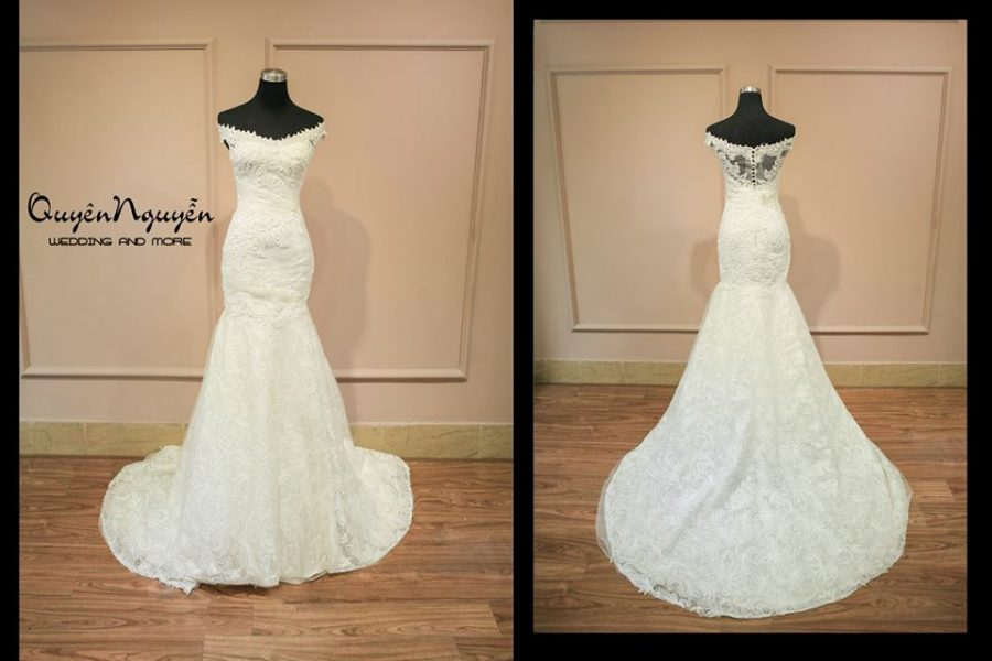 Váy cưới giá rẻ sale của quyên nguyễn bridal năm 2015